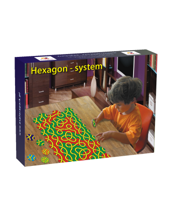 Mozaika Hexagon - system